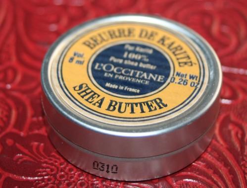 Le beurre de karité par l'Occitane