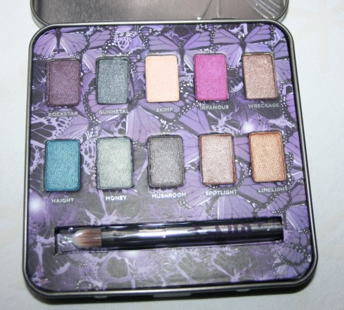 La palette Mariposa Urban Decay (+maquillage inside)