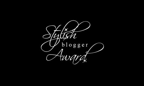 Des p'tites choses sur moi (Tag Stylish Blogger Award)
