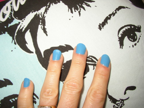 Un vernis pour l'été : Cyclades Blue