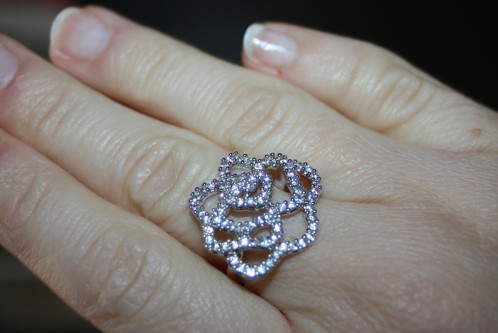 Une nouvelle bague : in love with Swarovski