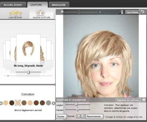 studio de relooking virtuel
