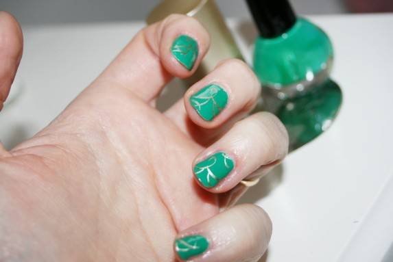 stamping sur vert