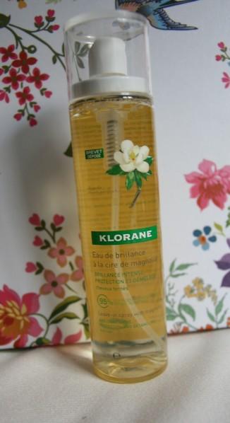 CosmétoFLOP : l'eau de brillance à la cire de magnolia Klorane