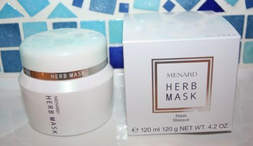 Herb Mask : le doux gommage visage de Menard