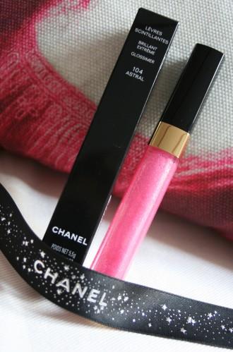 Le gloss scintillant de Chanel, une merveille !