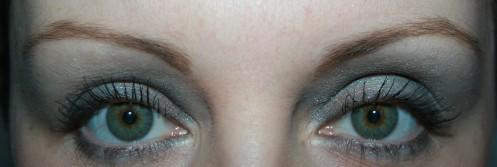 Blue eyes?