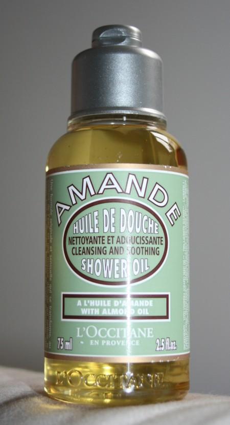 J'ai testé une huile de douche…