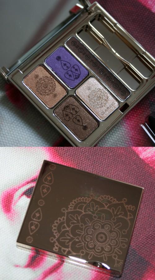 La palette Enchanted Clarins : plusieurs possibilités…