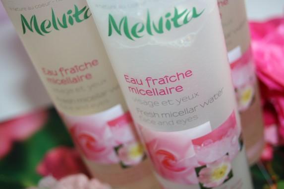 L'eau micellaire de Melvita : j'adore !