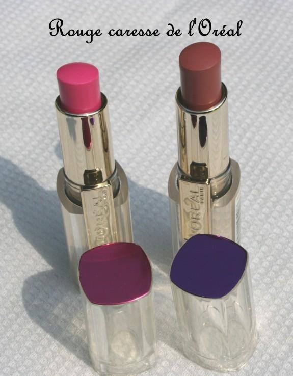 Rouge caresse de l'Oréal, le rouge qui habille discrètement les lèvres