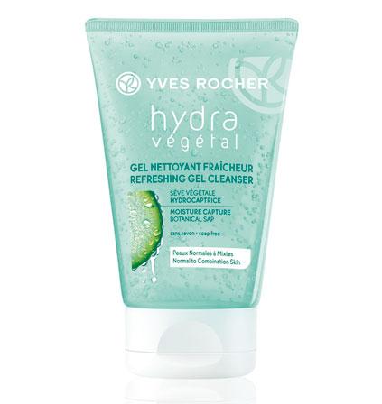 L'équation éco du jour avec le gel nettoyant Hydra-végétal d'Yves Rocher : pourquoi dépenser plus?