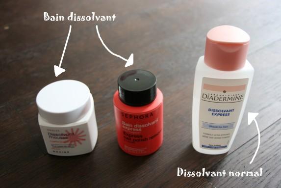 Bain dissolvant : le test qui dit tout !