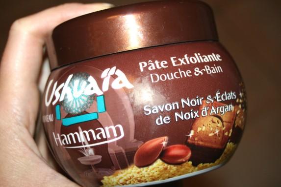 Dans la salle de bain de Christelle : la pâte exfoliante Ushuaïa