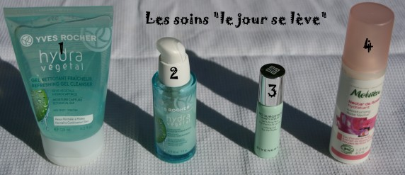 Routine de soins visage night & day