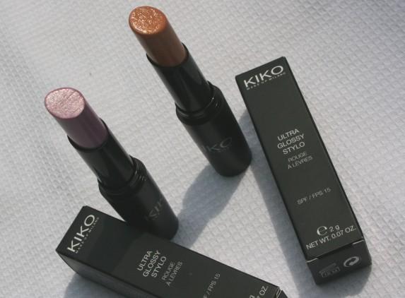 Les rouges à lèvres Ultra Glossy de Kiko
