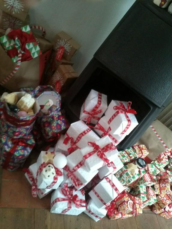 Dans la hotte du Père Noël LUSH….