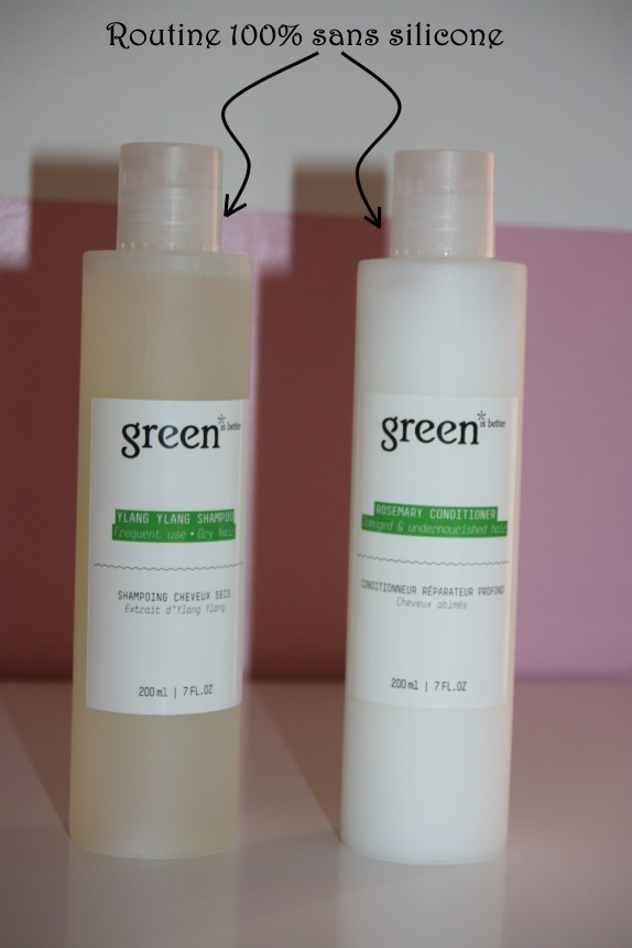 Mon quotidien capillaire 100% silicone free avec Green is better