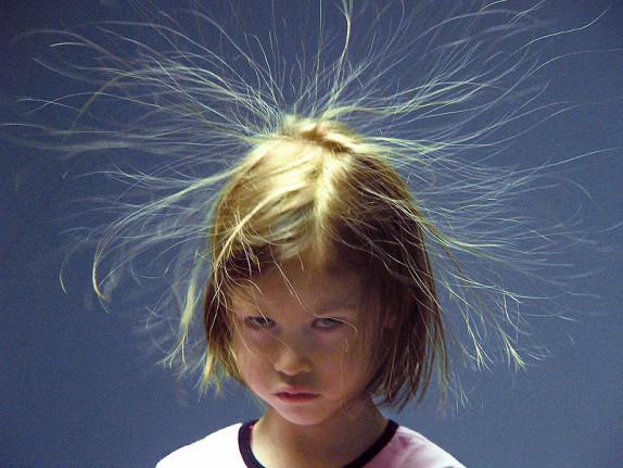 La galère des cheveux éllllleeeeccccctriques !!!!
