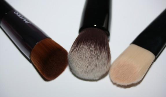 Un, deux trois pinceaux (Kiko, Sepho, Shiseido, ça rime)