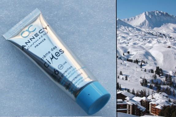 La crème des cimes (Annecy Cosmetics) : parfaite pour le froid !