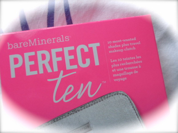 The Perfect Ten : la palette idéale selon Bare Minerals