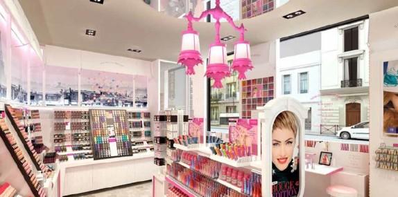Enfin une boutique Bourjois à Paris pour les 150 ans de la marque