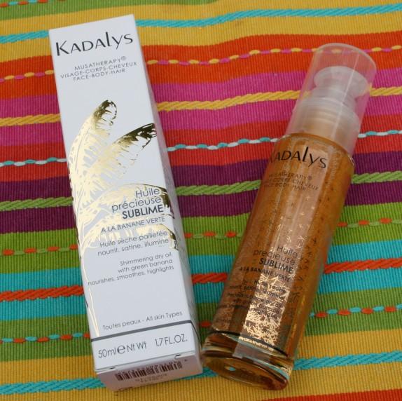 L'huile précieuse Kadalys : comment je l'utilise de manière un peu détournée