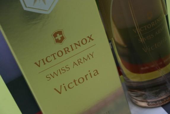 Victorinox c'est aussi du parfum : découverte de Victoria (concours)