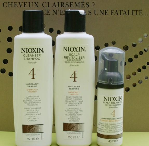 Nioxin pour les cheveux fins ! [gros plan gore inside]