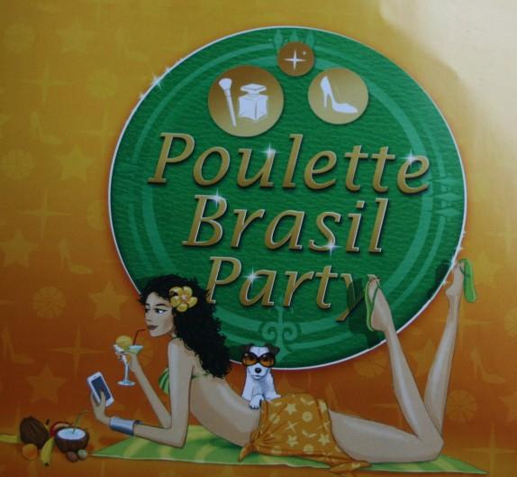 Un aller-retour coloré pour le Brésil – la Poulette Party III !