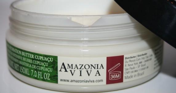 Amazonia Viva et son beurre qui devient huile [hydratant/nourrissant]