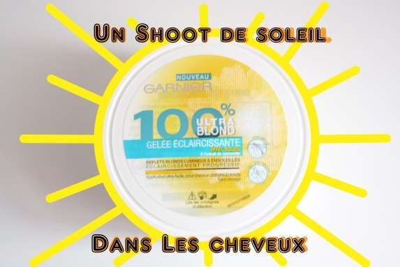 Garnier nous offre un shoot de soleil dans les cheveux