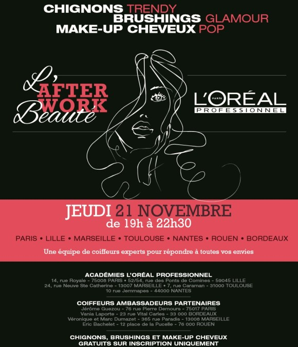 Alerte : les after-works L'Oréal reviennent !