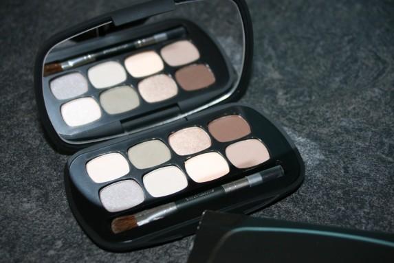Une palette de neutres avec bare Minerals Ready 8.0 (+looks)