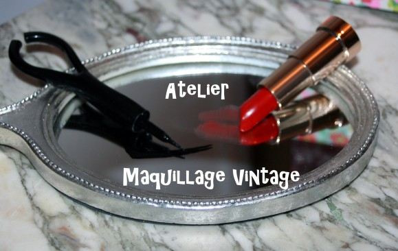 J'ai testé l'atelier de maquillage vintage (en mode pin-up)
