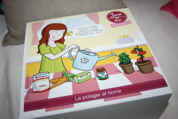La JuvaBox, la box vitaminée (qui te donne la patate) (+concours relais)