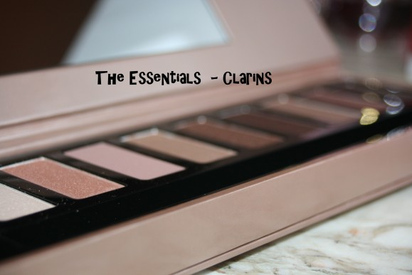 The essentials Palette Clarins : in-dis-pen-sa-ble !