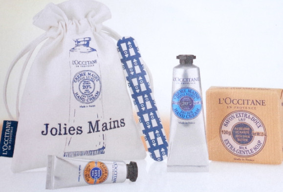 Alerte cocooning : un kit «jolies mains» l'Occitane