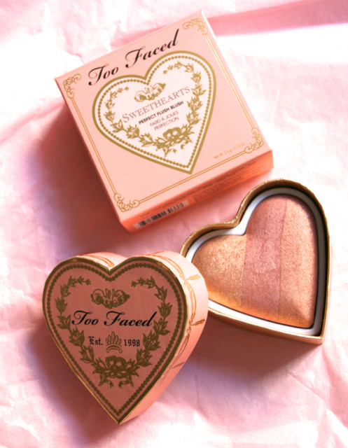Un amour de blush avec Too Faced