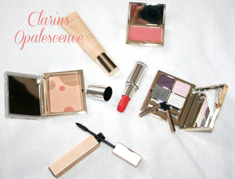 Collection Opalescence de Clarins : de la douceur pour le printemps