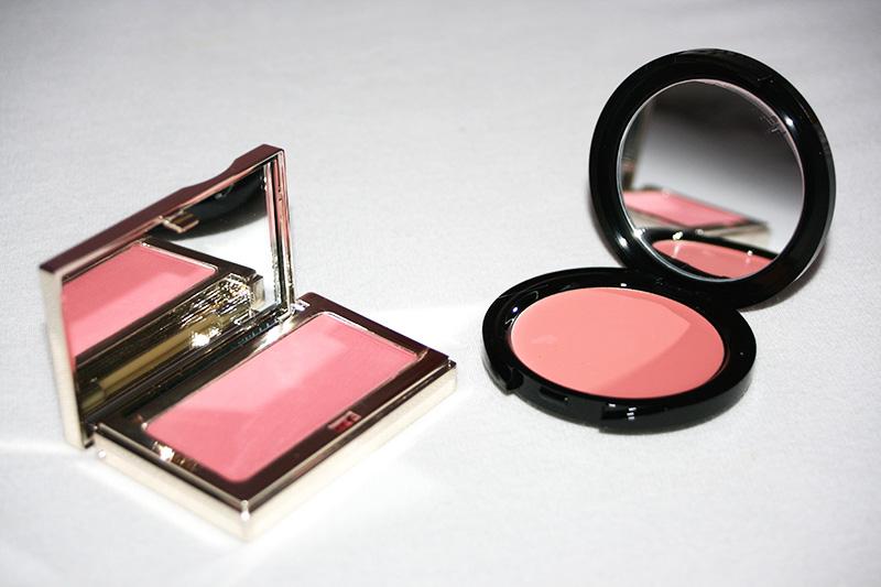 Clarins & Make Up For Ever : deux blushs-crème à adopter... (préférence pour le packaging précieux de Clarins !)