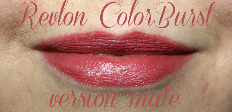 Revlon ColorBurst version baume mat & brillant