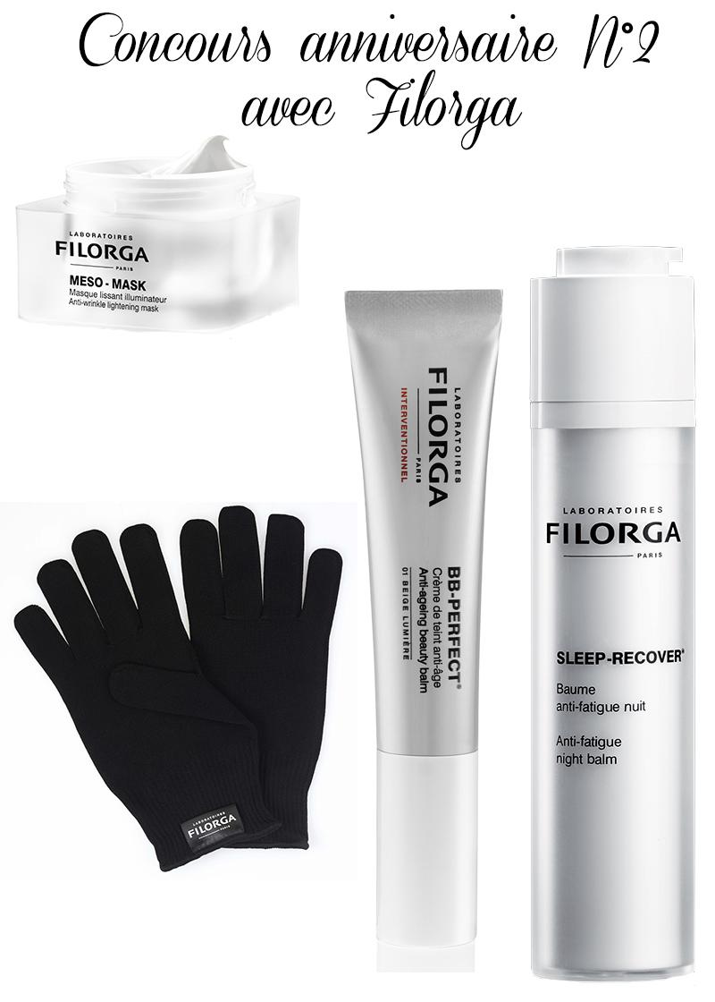 Anniversaire du blog avec Filorga [concours]