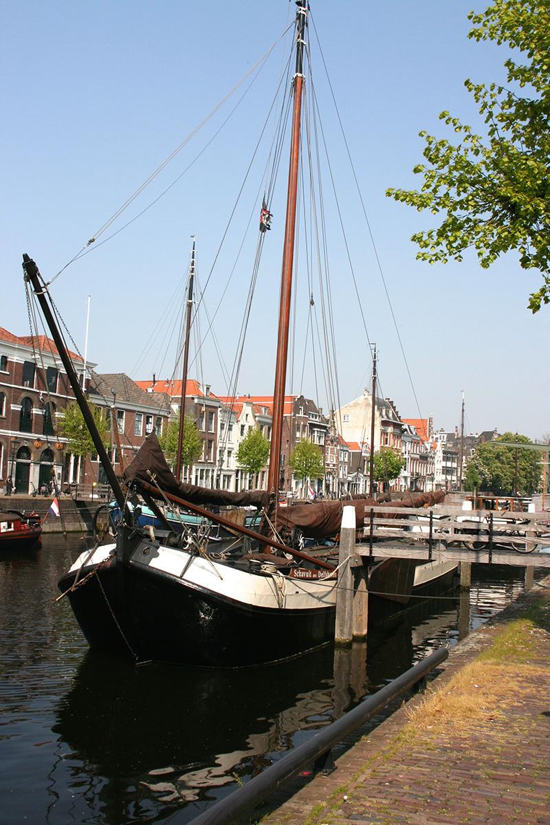 vieille ville Rotterdam rafiot