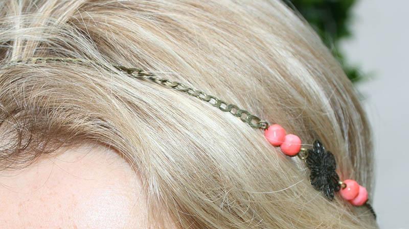 détail headband