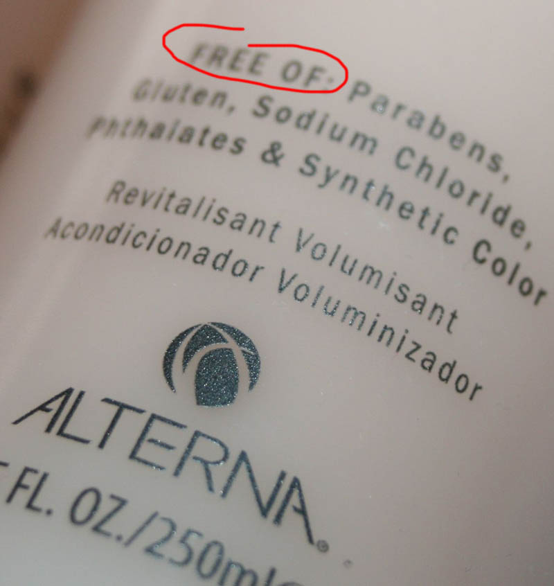 lterna haircare-free of