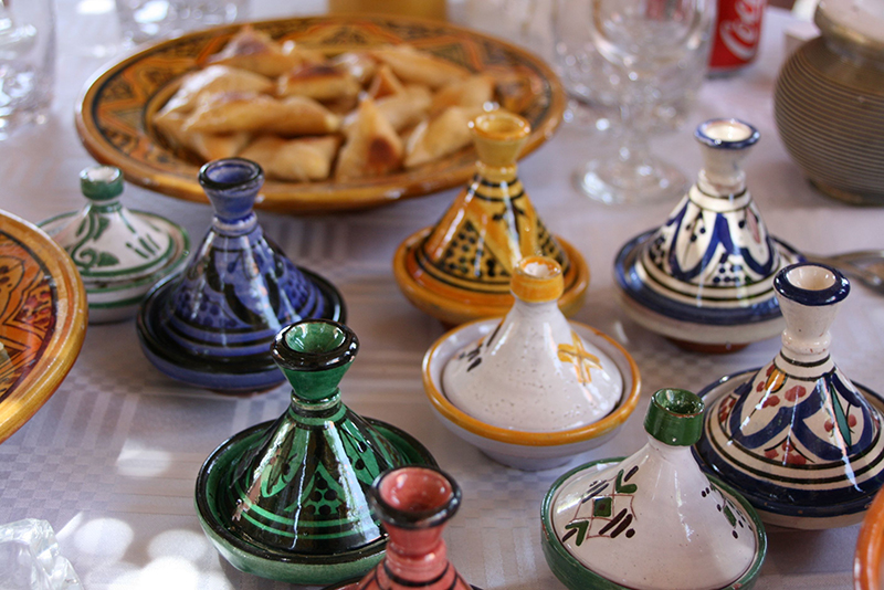 Nous y avons fêté un anniversaire autour de spécialités berbères (et d'autres moins)