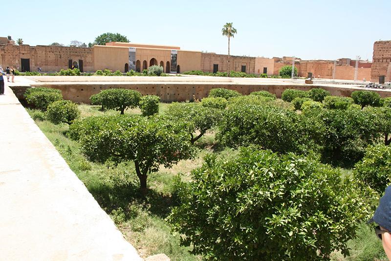 Palais Badia ou el-Badi - construit au XVI ème siècle par le sultan Ahmed el-Mansour pour célébrer une victoire - construit en 25 ans, il abrite à l'époque 360 pièces