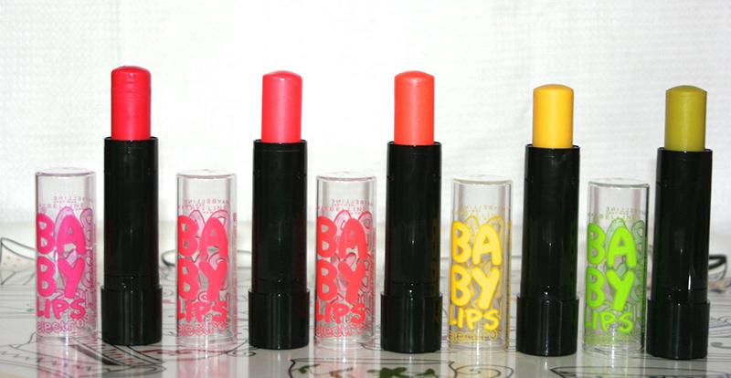 Les p'tits tubes néons : les Baby Lips Electro
